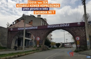 TOSYA'NIN TEK KİTABELİ KEMER KÖPRÜSÜNDE...
