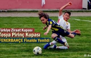 U11 Tosya Pirinç Kupası Finalinde Fenerbahçe'yi...