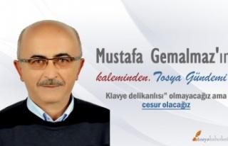 Mustafa Gemalmaz köşe yazıları ile tosyahaberleri.com...