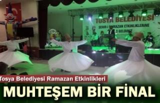 Tosya Belediyesi Ramazan Etkinliklerinde Muhteşem...