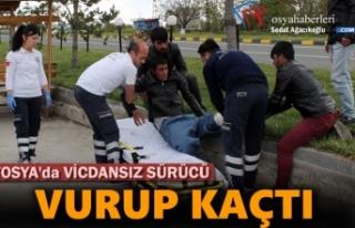 Tosya'da Vicdansız Şoför Yolcuya Vurup Kaçtı