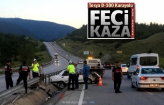 Tosya-D-100 Karayolu Trafik Kazası