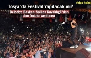 Tosya Kültür ve Pirinç Festivali Yapılacak mı?