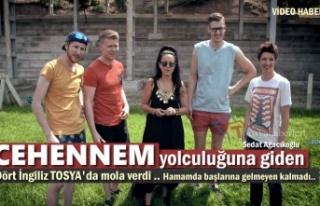 CEHENNEM YOLCULARI TOSYA'DA GÜREŞ TUTTU VE...