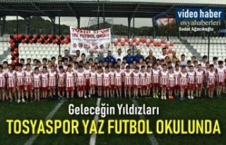 Geleceğin Yıldızları Tosyaspor Yaz Futbol Okulunda...