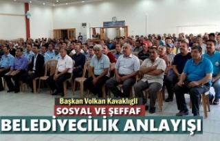 Tosya Belediye Başkanı Volkan Kavaklıgil İstişare...