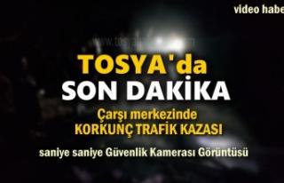 Tosya'da Korkunç Trafik Kazası Saniye Saniye...