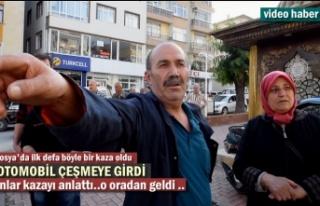Tosya'da Şaka Gibi Trafik Kazası ''Otomobil...