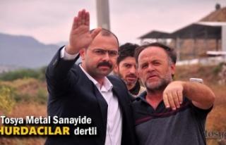 Tosya Metal Sanayi Hurdacı Esnafı Başkana Dert...
