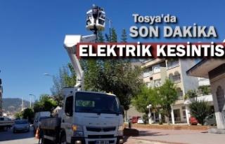 TOSYA'DA ELEKTRİK KESİNTİSİ -SON DAKİKA...