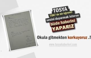 Tosya'da 6.Sınıf Öğrencisi Muhtardan Yardım...