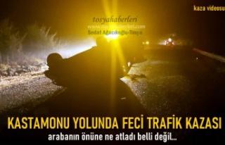 Tosya'da Trafik Kazasında 1 kişi Yaralandı