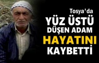 Tosya'da Yüz Üstü Düşen Yaşlı Adam Hayatını...