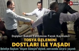 DIŞİŞLERİ BAKAN YARDIMCISI DOSTLARI İLE HASRET...