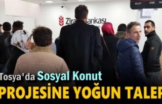 TOSYA 100 KONUT SOSYAL KONUT PROJESİNE REKOR BAŞVURU