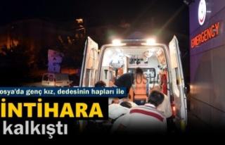 Tosya'da Genç Kız İddialara Göre İntihara...