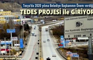 SON DAKİKA '' TOSYA'YA TEDES KURULUYOR...