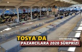 TOSYA'DA PAZARCILARA İŞGALİYE ZAMMI