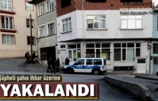 Tosya'da Şüpheli Şahıs İhbar Üzerine Emniyet...