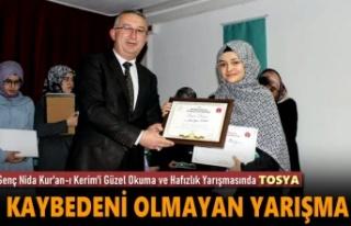 Tosya Kız Anadolu İmam Hatip Lisesi İl İkincisi