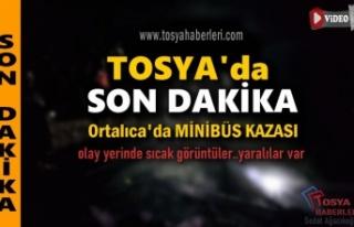 TOSYA-ORTALICA FECİ MİNİBÜS KAZASI