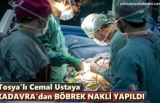 Tosyalı Cemal Usta Kadavradan Alınan Böbrekle Sağlığına...