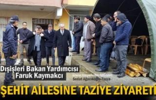 DIŞİŞLERİ BAKAN YARDIMCISI FARUK KAYMAKCI ŞEHİT...