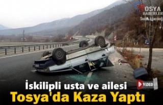 İSKİLİP'Lİ USTA TOSYA'DA TRAFRİK KAZASI...