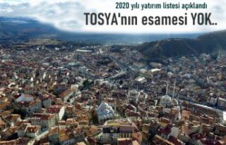 TOSYA'NIN ESAMESİ OKUNMADI