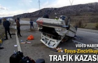TOSYA-ZİNCİRLİKUYU TRAFİK KAZASI