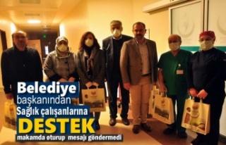 Tosya Belediye Başkanından Sağlık Çalışanlarına...