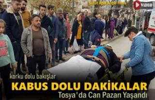 Tosya'da Trafik Kazasında Kabus Dolu Dakikalar...