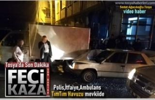 Tosya Şehiriçi TımTım Havuzda Trafik Kazası
