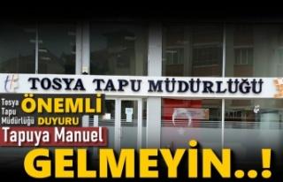 Tosya Tapu Kadostro Müdürlüğü Vatandaşları...