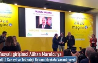 Tosyalı Girişimciye Yılın Teknoloji Ödülünü...