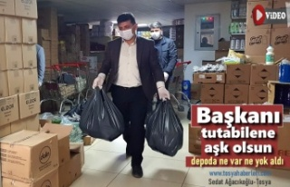 AK Parti Tosya İlçe Teşkilatından Milli Dayanışma...