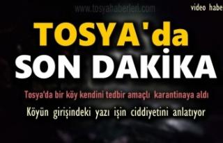 TOSYA'DA KÖY MUHTARINDAN İLGİNÇ KORONOVİRÜS...