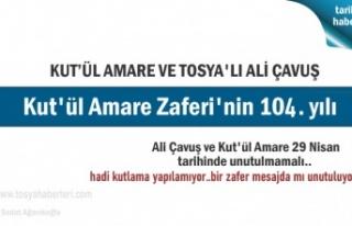 Tosya'da Kut'ül Amare Zaferi ve Ali Çavuşu...