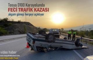 TOSYA D100 KARAYOLUNDA FECİ TRAFİK KAZASI