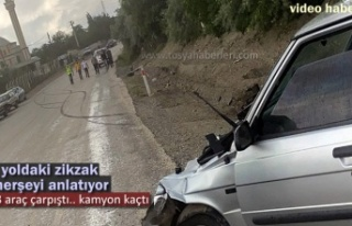 Tosya'da Zincirleme Trafik Kazası Meydana Geldi