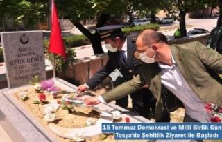 Tosya'da 15 Temmuz Demokrasi ve Milli Birlik...