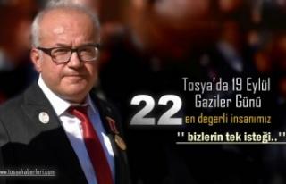 19 Eylül Gaziler Günü Töreninde tek isteklerini...