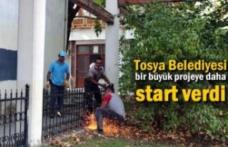 Tosya Belediyesi Önemli Bir Projenin Stardını Verdi