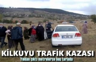 Tosya-Kilkuyu Köyünde Trafik Kazası
