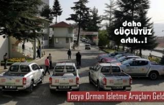 Tosya Orman İşletme Müdürlüğüne 7 Adet Araç