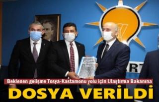 AK PARTİ TOSYA İLÇE BAŞKANI TOSYA-KASTAMONU YOLU...