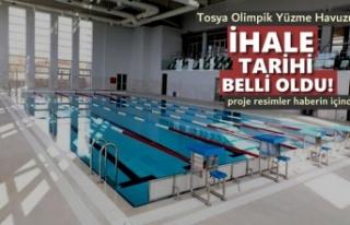 Tosya Yarı Olimpik Yüzme Havuzu 270 Gün Sonra Hizmete...