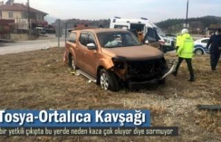 ORTALICA KAVŞAĞI TRAFİK KAZASI