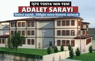 Tosya Adliye Binası İhalesi Yapıldı