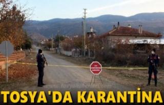 Tosya'da Karantina